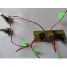 Металлоискатель пират (с 2 резисторами)
