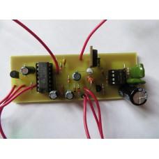 Металлоискатель пират (электроника без резисторов)