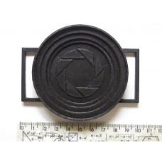Держатель крышек объективов универсальный (диаметр 52, 58, 67, 77мм), nikon,  3d печать, АБС, есть разные цвета