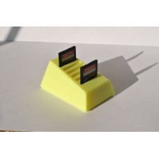 Холдер для SD карт памяти, держатель карт, подставка, 3d печать, АБС, есть разные цвета